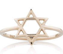Star Of David Ring Roségold