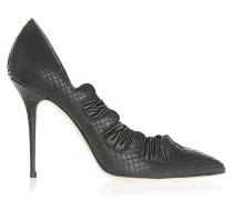 Berilla 105 Stilettos Violanta Python Black