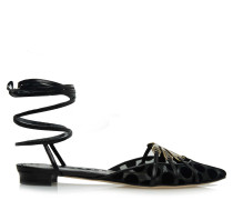 Mieza 10 Sandalen Black Fabric
