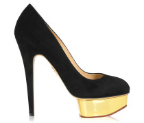 Dolly Pumps Black Gold