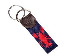 Schlüsselanhänger Blau Rot Hummer