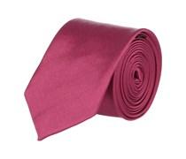 Extra Schmale Krawatte Magenta