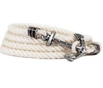 Smooth Sailor Ankerarmband Weiß