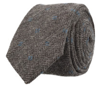 Schmale Krawatte Anthrazit