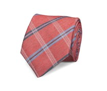 Klassische Krawatte Rot Gestreift