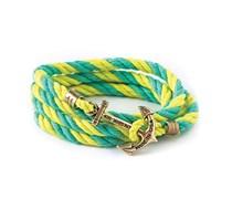 Life Aquatic Armband Türkis-Gelb