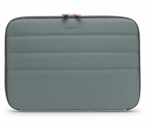 "NJ 13"" Laptop Case Grey Silver Jersey"