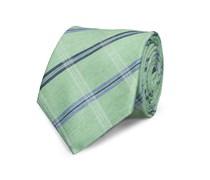 Klassische Krawatte Grün Gestreift