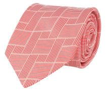 Krawatte Rot Muster