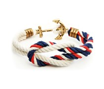 American Classic Anker Armband Marine-Rot-Weiss