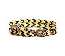 Mason Adirondack Armband Pfeil Gelb Schwarz Weiss