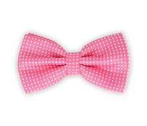 Fliege Pink Polka Dot