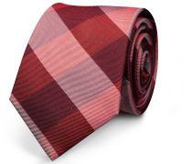 Krawatte Rot Breiter Streifen