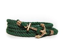 The Adirondack Anker Armband Dunkelgrün