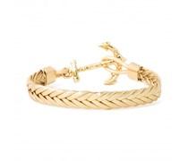 Golden Birch Anker Armband Gold
