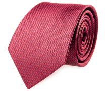 Krawatte Seide Rot Karo