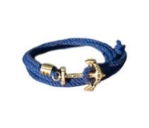 Jethro Hull Anker Armband Blau