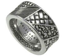 Ring 925 Sterling Silber Schwarz Rhodiniert