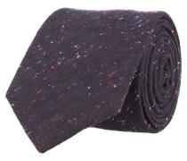 Klassische Krawatte Schwarz