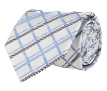Krawatte Hellblau Rautenmuster
