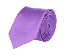 Extra Schmale Krawatte Lila