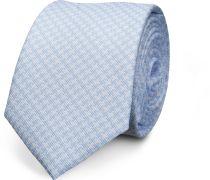 Krawatte Blau Floral