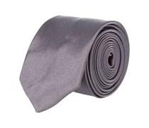 Extra Schmale Krawatte Anthrazit