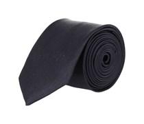 Extra Schmale Krawatte Navy Blau