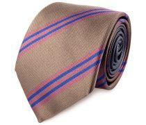 Krawatte Braun Lila