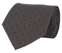 Krawatte Schwarz Kästchen