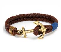 Saranac Lake Anker Leder-Armband