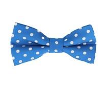 Fliege Polka Dot Blau
