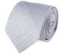 Krawatte Blau Streifenmuster