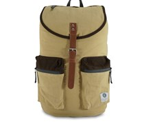 Kay Cream & Chocolate Rucksack Braun