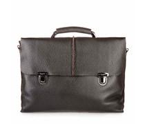 Milano Briefcase Leder Braun