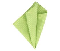 Einstecktuch Grün Weiß Gepunktet