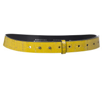 NATURALLY NEW cork patch trouser belt (3cm)