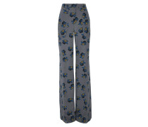 UNEXPECTED BLOSSOM straight wide leg pants