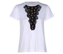 GENTLE PLAY shirt 1/4 silk ascot