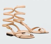 DESERT VIBES wrap flat sandal