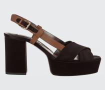 SHINY PERFECTION platform sandal 9