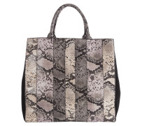 PATCHED PERFECTION patched snake neoprene bag with black cal