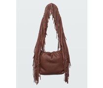 FRINGED ADVENTURE Pouch Bag