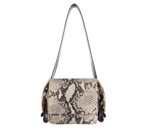 BUCKLED BEAUTIES double buckle bag