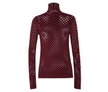 HOLE IT UP pullover turtleneck 1/1