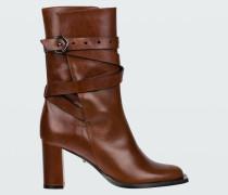 SPORTY ELEGANCE short strap boot 7cm