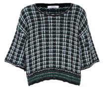 CHECKED COUTURE pullover o-neck 1/4