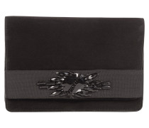 EMBROIDERY DELUXE clutch