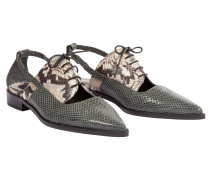 EXOTIC CHIC cut-out oxford shoe