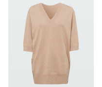 DECONSTRUCTED LOOK pullover o-neck /4